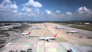 Flughafen Stuttgart - Timelapse