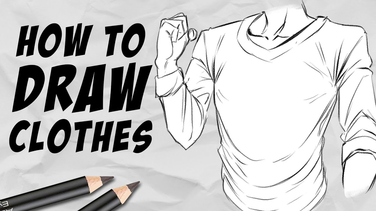 Download How to draw Clothes & Wrinkles   Beginner Tutorial   DrawlikeaSir