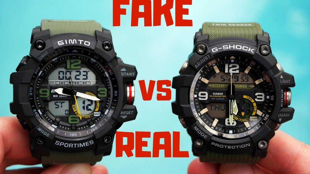 4K) CASIO G-SHOCK MUDMASTER REAL VS FAKE - YouTube 9143ecc528