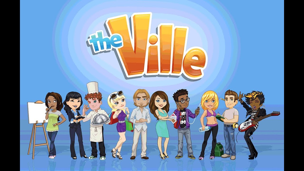Old Facebook Games Zynga S The Ville Youtube