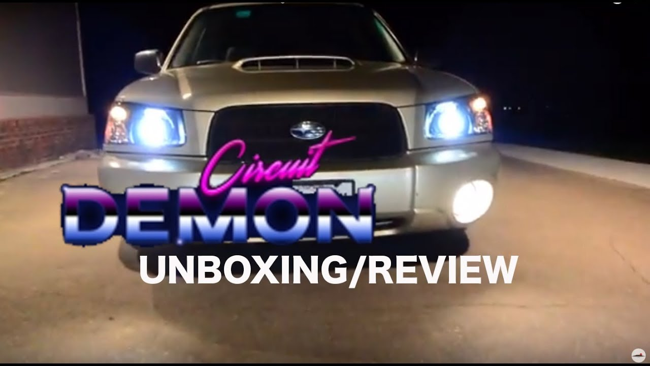 2003-2005 SG Subaru Forester Headlights: Circuit Demon Unboxing/Review