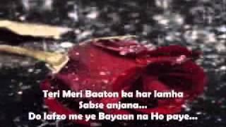 Teri Meri Kahani - Bodyguard - Full Song With Lyrics On Screen.wmv