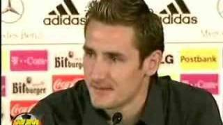 Miroslav Klose Interview