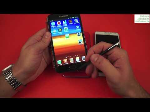Семейство Samsung Galaxy Note: I, II, 3: небольшое сравнение