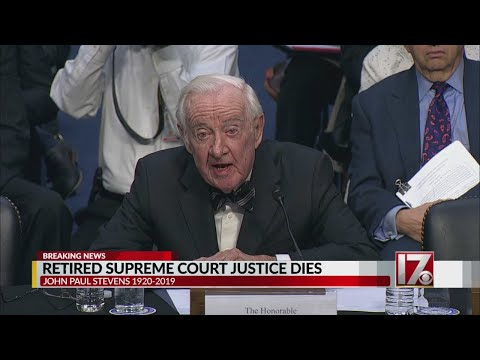 Former Justice John Paul Stevens dies at 99, Supreme Court says