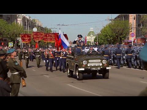 Парад Победы в Рязани .