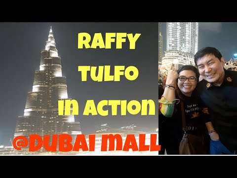 #RAFFY TULFO IN ACTION @DUBAI MALL UAE//MEET AND GREET