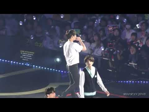 BTS Crystal Snow Live In Japan * Jin High Note*
