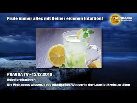 Nobelpreisträger: Die Welt muss wissen, dass alkalisches Wasser in der Lage ist Krebs zu töten