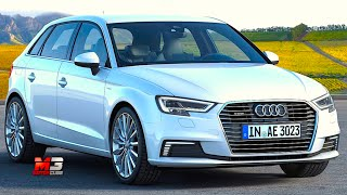 New audi A3 e-tron sportback 2016 - first test drive only sound