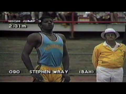 1982 Commonwealth Games Mens High Jump