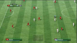 2010 FIFA World Cup (PS3) Montenegro vs. Serbia (Part 1)