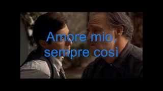 Gianni Morandi Parla più piano with lyrics