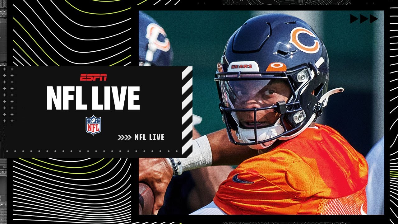 Justin Fields steps in for Chicago Bears after starting QB Andy ...