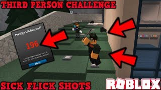 THIRD PERSON CHALLENGE (ROBLOX ASSASSIN) *SO CLOSE TO PRESTIGE 200!*