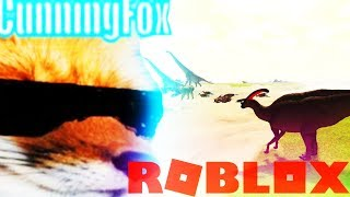 A CUNNING FOX IN ROBLOX - RANDOM GAME SLOT - ( DINOSAUR SURVIVAL ROLEPLAY GAMEPLAY LETS PLAY KIDS )