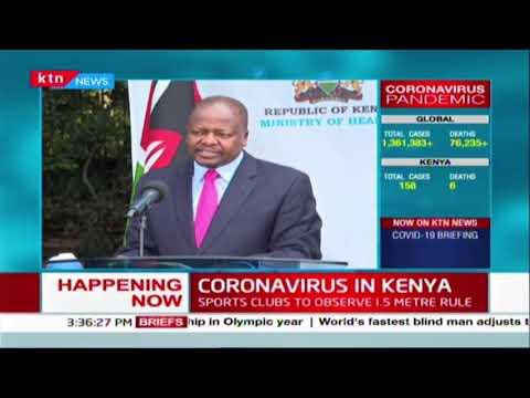 Kenya begins rapid testing using new reagents  | COVID-19 7th April 2020 Updates