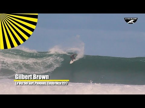Pavones destroyed by Gilbert Brown Surf