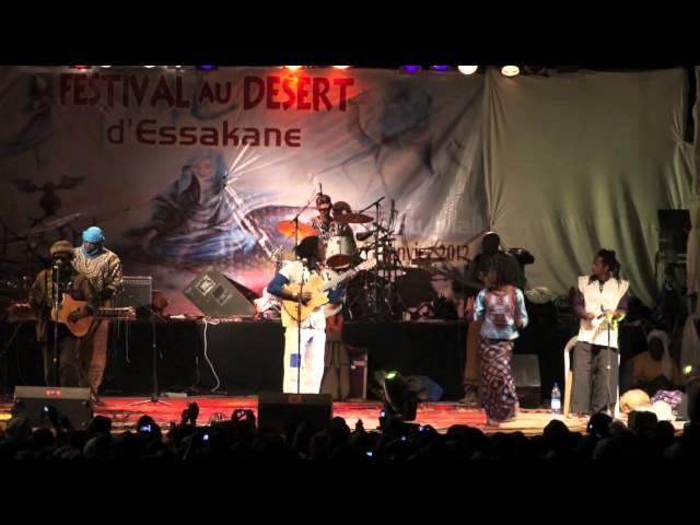 Habib KOITE- festival au desert 2012
