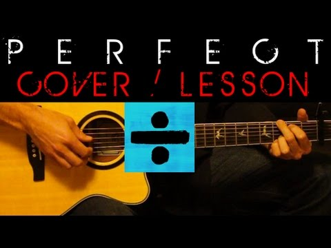 Perfect Ed Sheeran Cover Easy Acoustic Guitar Tutorial