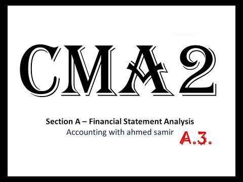 المحاضرة رقم 8 : مثال شامل على تحليل القوائم المالية