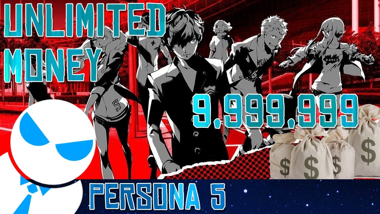 Persona 5 9999999 Yen In 2 Hours Unlimited Money Farm Youtube