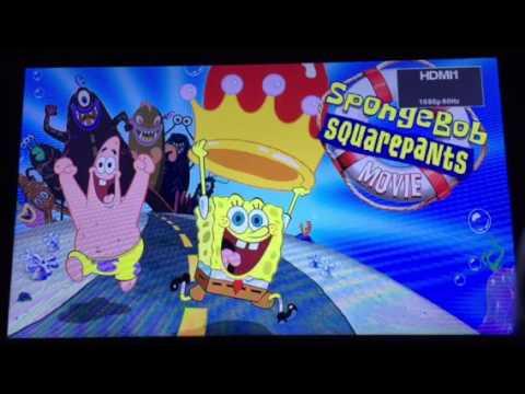 spongebob squarepants movie blu ray
