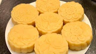 Bánh đậu xanh_cách làm bánh đậu xanh cốt dừa thơm ngon_Bếp Hoa
