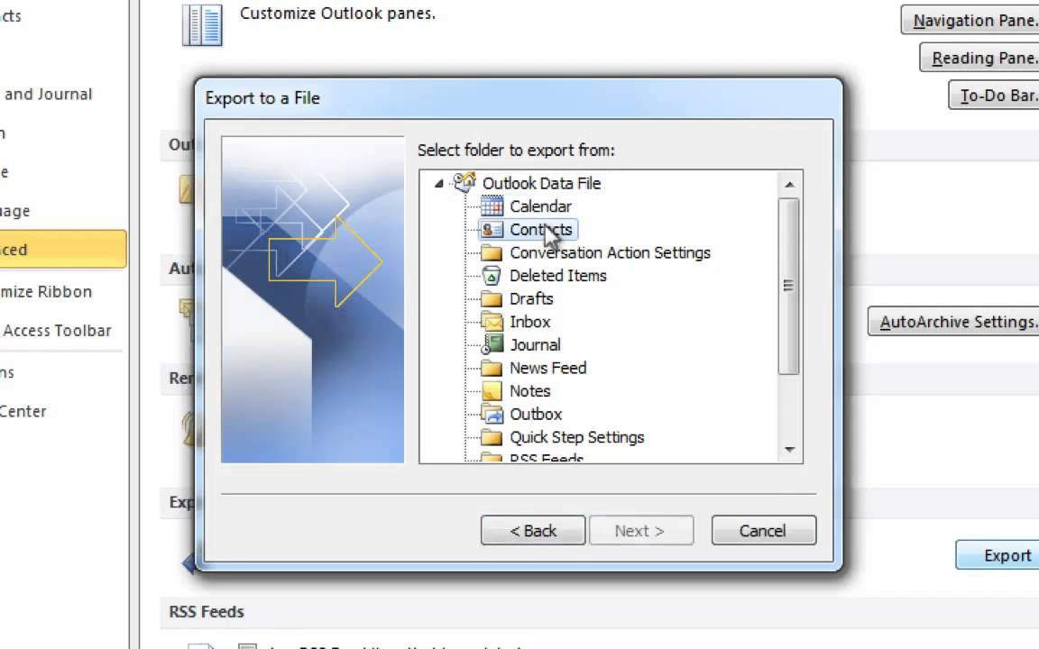 How to manually transfer Outlook contacts to iPhone