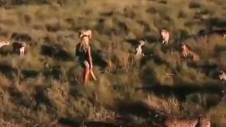 Girl Raised As A Bushman Walking With Lions & Toys