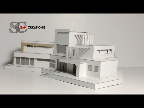 MODEL MAKING OF MODERN ARCHITECTURAL contemporaneity Design #5