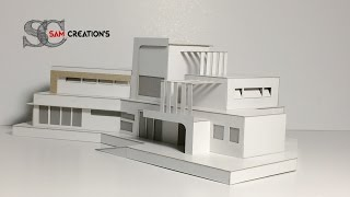 MODEL MAKING OF MODERN ARCHITECTURAL contemporaneity Design #5 thumbnail