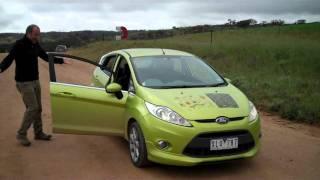 A manual car
