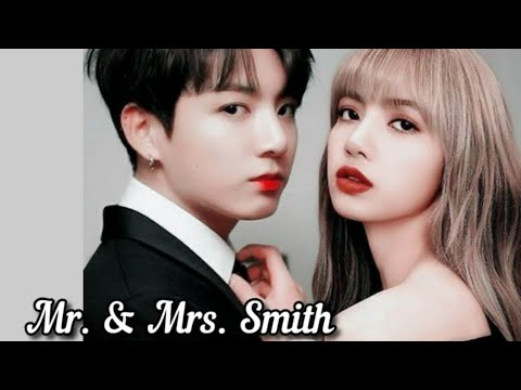 Чонгук и Лиса - Mr. \u0026 Mrs. Smith |клип|