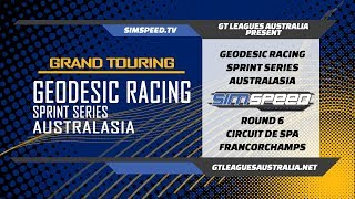 Geodesic Racing Sprint Series Australasia | Round 6 | Spa Francorchamps