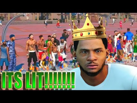 NBA 2K16 MY PARK - 6'7 Point Guard Getting Buckets! | KING OF SUNSET