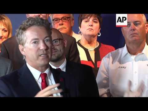 Sen. Rand Paul Holds Town Hall on Health Care
