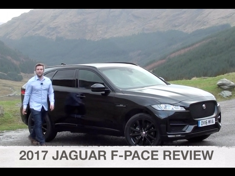 Jaguar F Pace Suv Review Driver S Seat Youtube