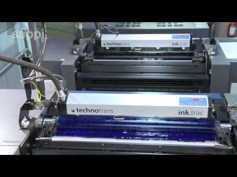 The Printing Process - Sheet Offset Press - Russian