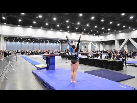 Abigail Johnston - Vault 1 - 2018 Women's Junior Olympic National Championships