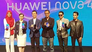 Huawei Nova 4 Superstar Launch Malaysia 16/1/2019