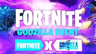 *NEU* GRATIS GODZILLA BELOHNUNGEN?! 😱 (Godzilla Live Event) | Fortnite X Godzilla