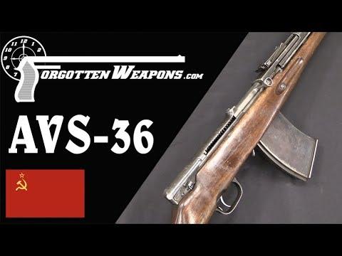 AVS-36: The First Soviet Infantry Battle Rifle