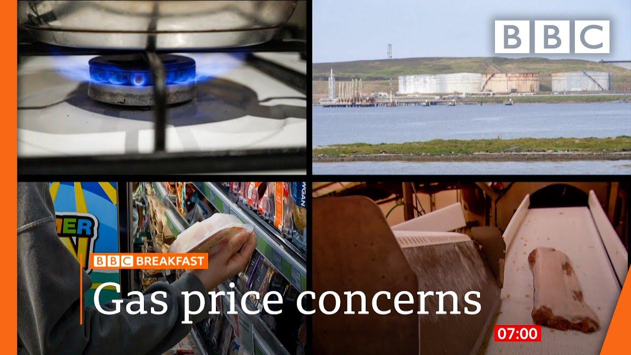 Gas price rises prompt urgent government talks BBC News live  BBC