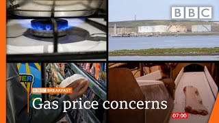 Gas price rises prompt urgent government talks @BBC News live 🔴 BBC