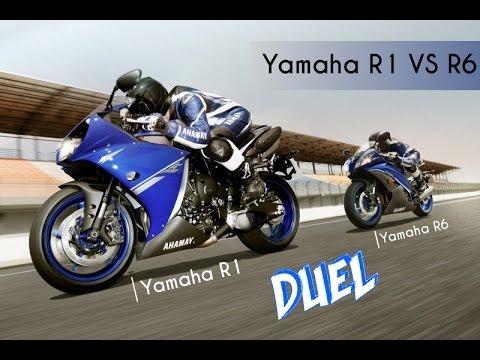 Yamaha r1 vs yamaha r6 acceleration and top speed 0 for Yamaha r1 top speed