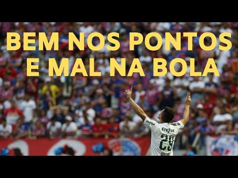 Palmeiras vence e persegue o Flamengo na pontuação, mas no futebol está muito atrás