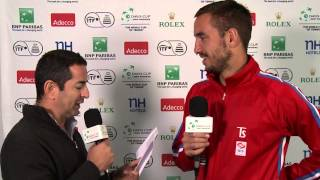 Serbian lessons with Viktor Troicki