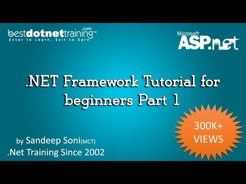 Learn asp. Net: 30 tutorials, resources, websites.