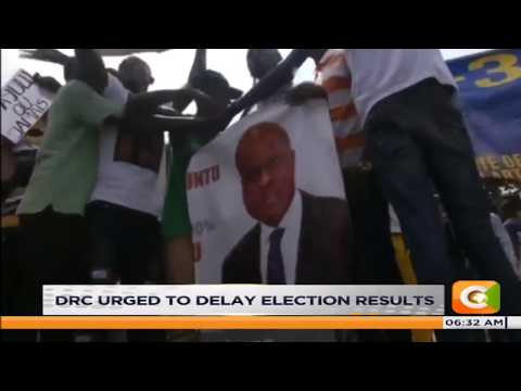 African union calls on Democratic Republic of Congo to postpone Presidential election results